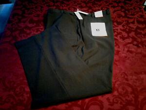 Nueva Van Heusen Big Alto Carbon Hombres Frente Plano Pantalones 50 X 30 Nuevo Con Etiquetas Precio De Venta Sugerido Por El Fabricante 80 Ebay