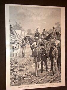 Guerra-Ispanico-Americana-nel-1898-Uniformi-dell-039-esercito-degli-Stati-Uniti
