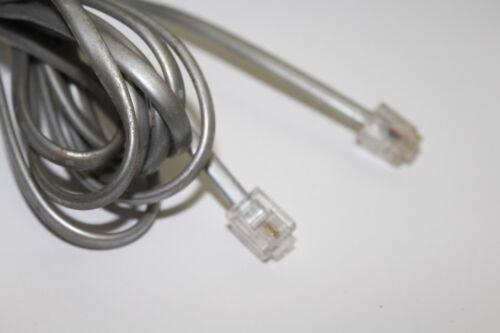 PHONE CABLE RJ11 TELEPHONE ADSL MODEM TELEPHONE CORD LAN EXTENSION PLUG ADAPTER