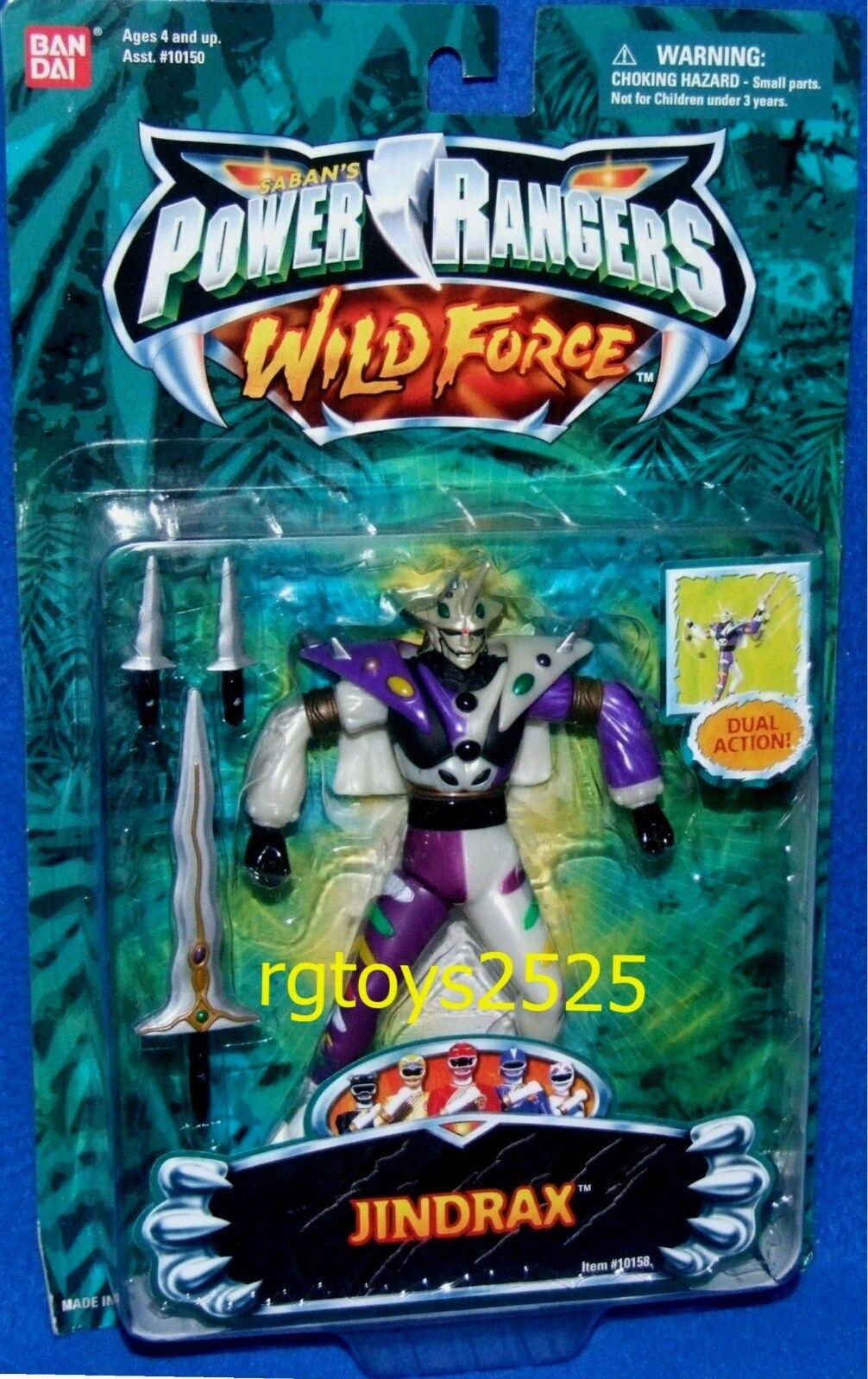 Power rangers wilde kraft jindrax duell action alien - 5  fabrik versiegelt 2002 neue