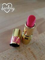 Yves Saint Laurent Rouge Volupte Shine Lipstick .06oz 49 Bright Strawberry Pink