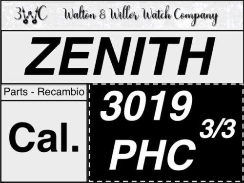 Details about  /1 pc zenith 3019 phc 400 first Chronograph part vintage original new us 3//3 show original title