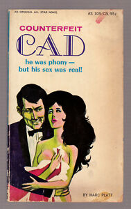 Counterfeit-Cad-Marc-Platt-vintage-1966-All-Star-Books-GGA-sleaze-VG-EX