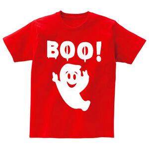 Ansaveh-034-BOO-034-Kids-Round-neck-Statement-Shirt-Choose-Any-Color