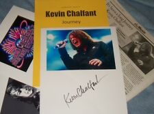 KEVIN CHALFANT Autographed Photo & Photos of Journey- Collectible