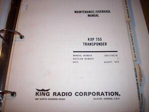 king kxp 755 transponder service manual ebay rh ebay com Kolpin KXP Plunger KEXP Seattle