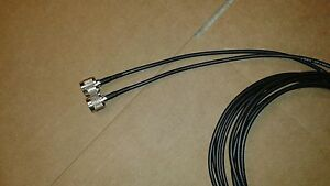Coax  Cable US MADE 50ft  RG-58  SMA Male to N Male 50 ohm