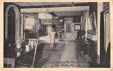 Trois Rivieres Quebec Chateau De Blois Foyer Interior Antique Postcard K42882