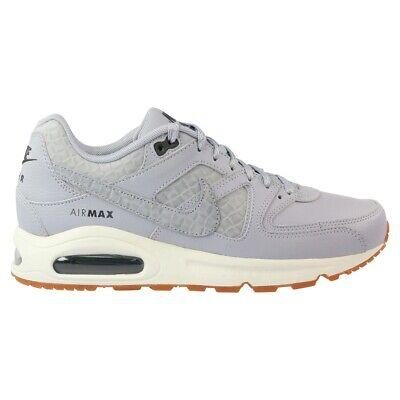 Womens Nike Air Max Command PRM Running Shoes Grey Gray White 718896 005 Premium | eBay
