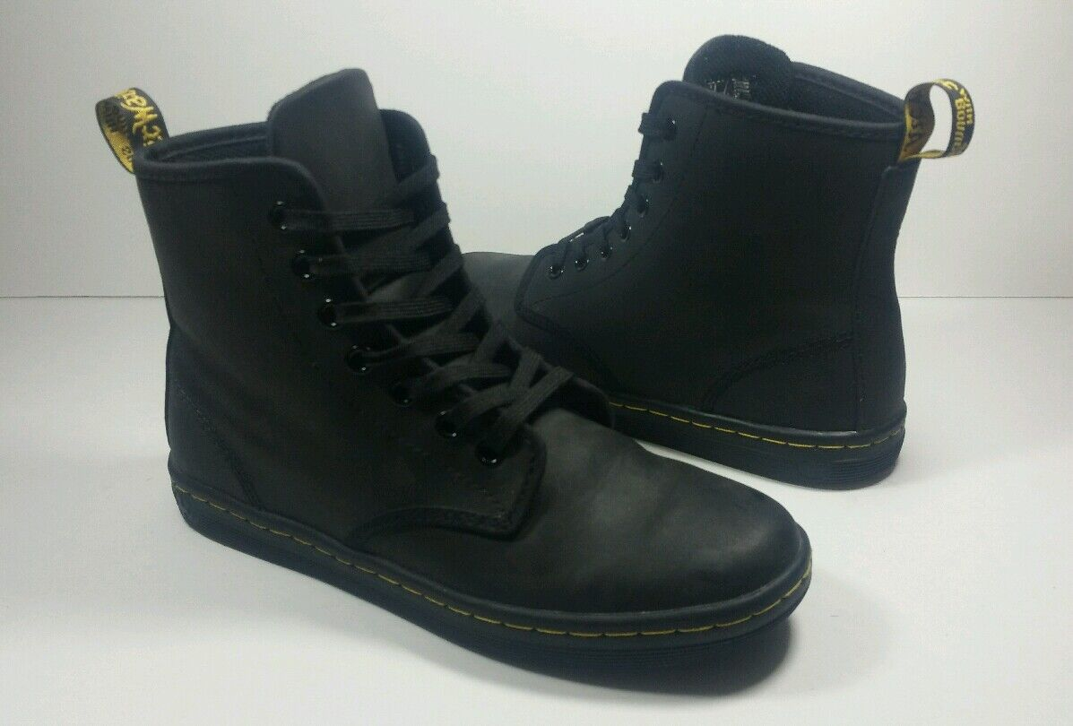 Dr. Martens Air Wair Women's 7-Eye Black Boots - Size 6 US