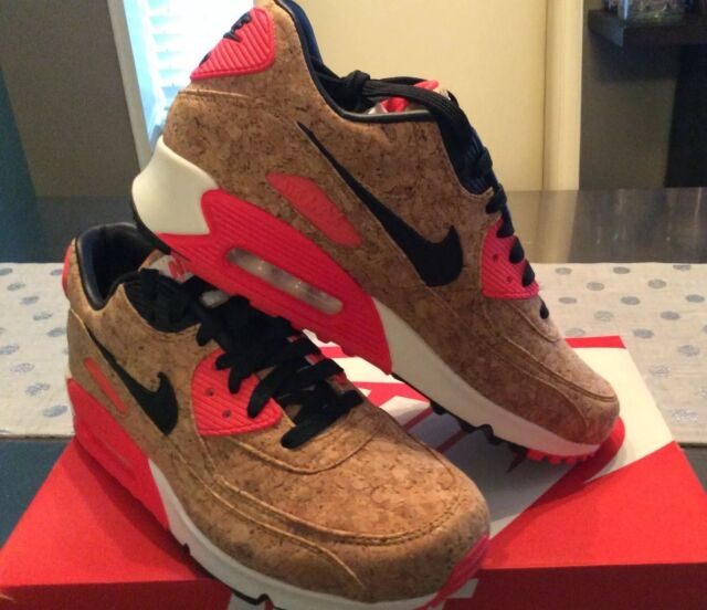 Woman's Nike Air Max 90 Cork Anniversary Edition Women's Size 8.5