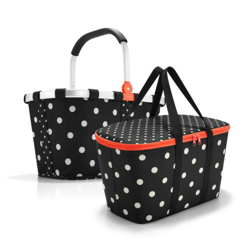 coolerbag UH7051 mixed dots Set aus reisenthel carrybag BK7051 mixed dots