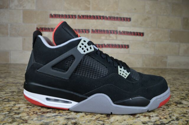 Size 12.5 - Jordan 4 Retro bred release 2012