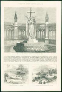 1874-Antique-Print-INDIA-Cawnpore-Memorial-Nana-Sahib-Suttee-Chowrah-179