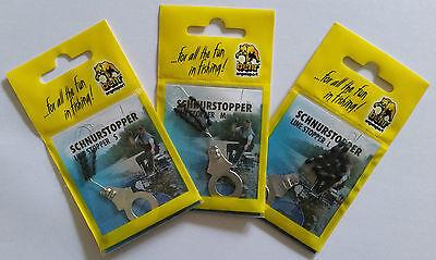 Behr Schnurstopper Gummistopper Schnur Stopper Perlen S M L 45 Stück Set NEU