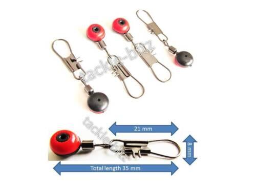 Fishing Tackle Running ledger zip slider beads snap links swivels Float Adaptors