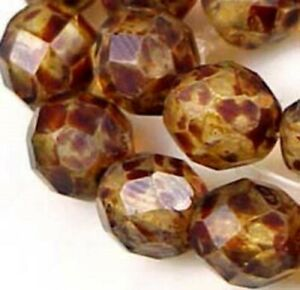 25-Firepolish-Czech-Faceted-Round-Crystal-Picasso-8mm