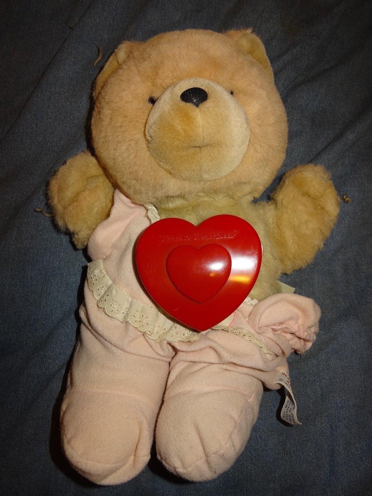 Chosun Heart to Heart Baby Bear Stuffed Plush Working Condition