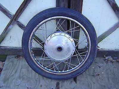 Yamaha YM1 Motorcycle Front Wheel