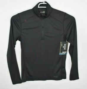 NEW-Rhone-Sequoia-1-4-Zip-Pullover-Mens-Size-S-Black-Polartec-PowerGrid
