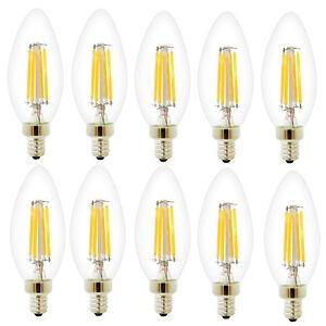 10er 4w dimmbar e14 led filament gl hfaden fadenlampe lampe birne warmwei ebay. Black Bedroom Furniture Sets. Home Design Ideas