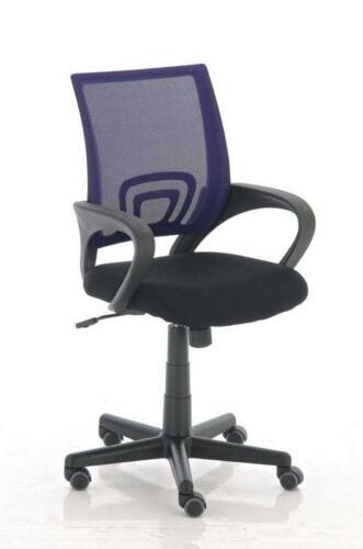 Bürostuhl 120 kg belastbar Netzbezug lila ergonomisch Drehstuhl Computerstuhl