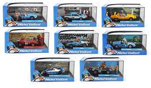 Recopilación 8 coche modelo 1 43 Michel Vaillant comic book DIECAST Model Coche v1