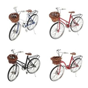 1:10 Simulation Alloy Racing Bike Road /& mountain Bicycle Model 18cm lgth10cm ht