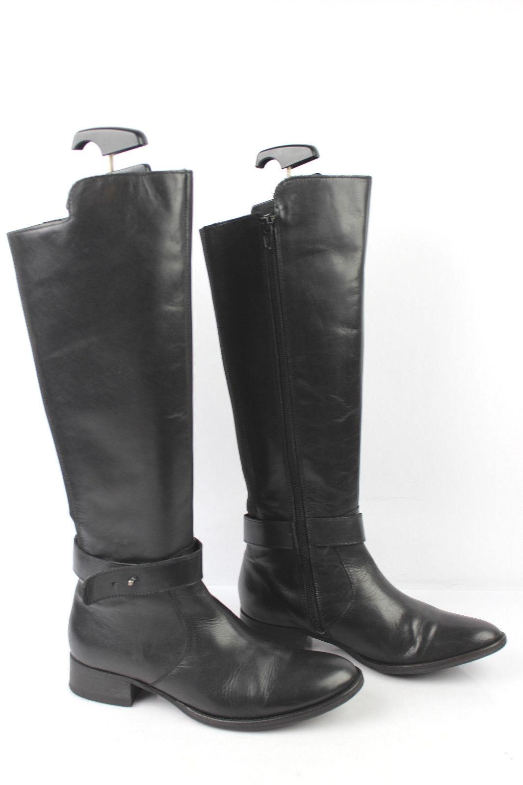 Stiefel SBN MBRINB schwarzes Leder Comic elastisch t 36 sehr guter Zustand