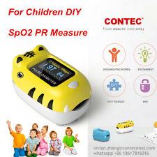 Kid Pediatric Child Pulse Oximeter Finger Blood Oxygen Saturation Monitor Color