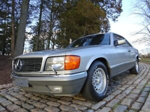 Mercedes-Benz 500 SEC 1983 160.000km EURO ver. GREAT CAR