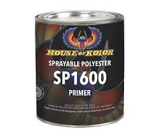 Item 3 House Of Kolor Sp 1600g Grey Polyester Primer Sprayable Gallon Hok Sp1600 G