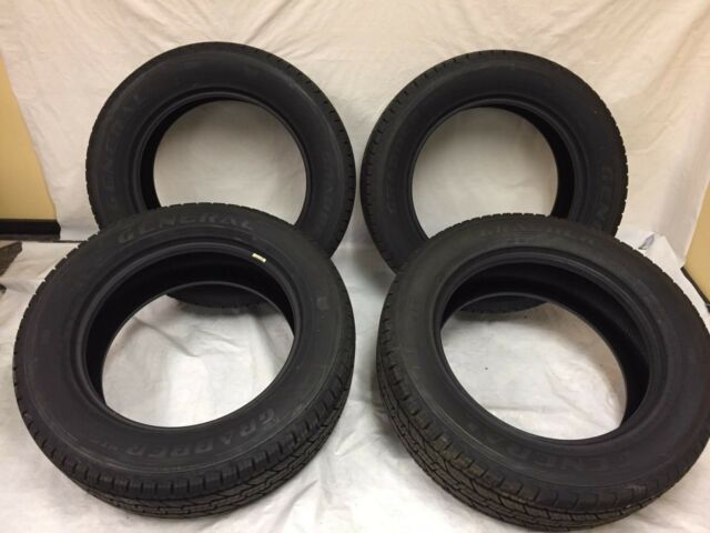 2656020 LT265/60/20 GENERAL GRABBER HTS 10-PLY 118R NEW TIRE SET OF 4