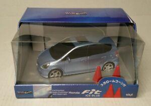 Wave-Racing-2001-08-Honda-Fit-Radio-Contolled-Car-Ice-Blue-1-24-Japan-HTF