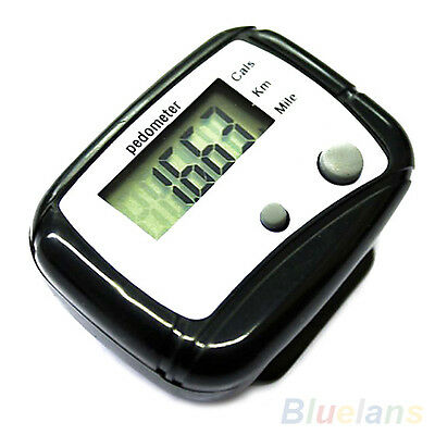 Useful Classic Popular LCD Pedometer Step Calorie Counter Walking Distance