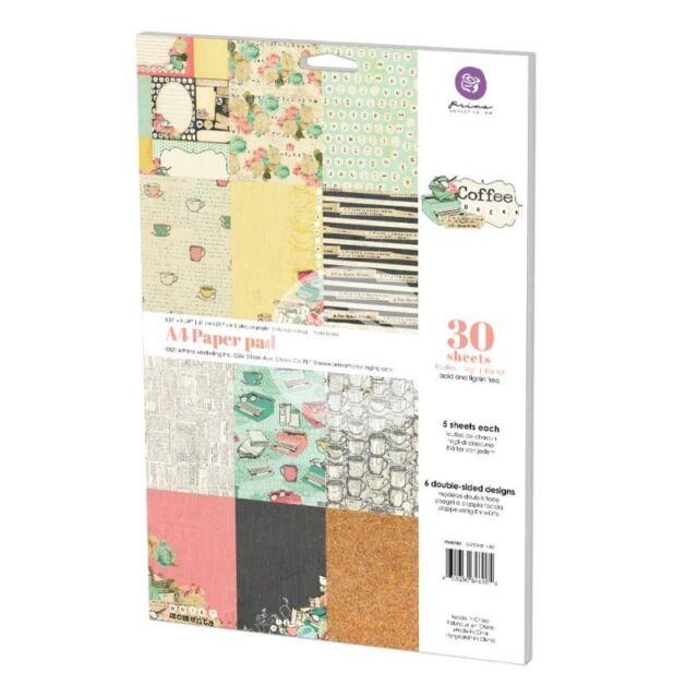 Prima Marketing Inc: Coffee Break Collection A4 Paper Pad