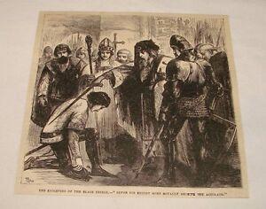 1880-magazine-engraving-KNIGHTING-OF-THE-BLACK-PRINCE-England