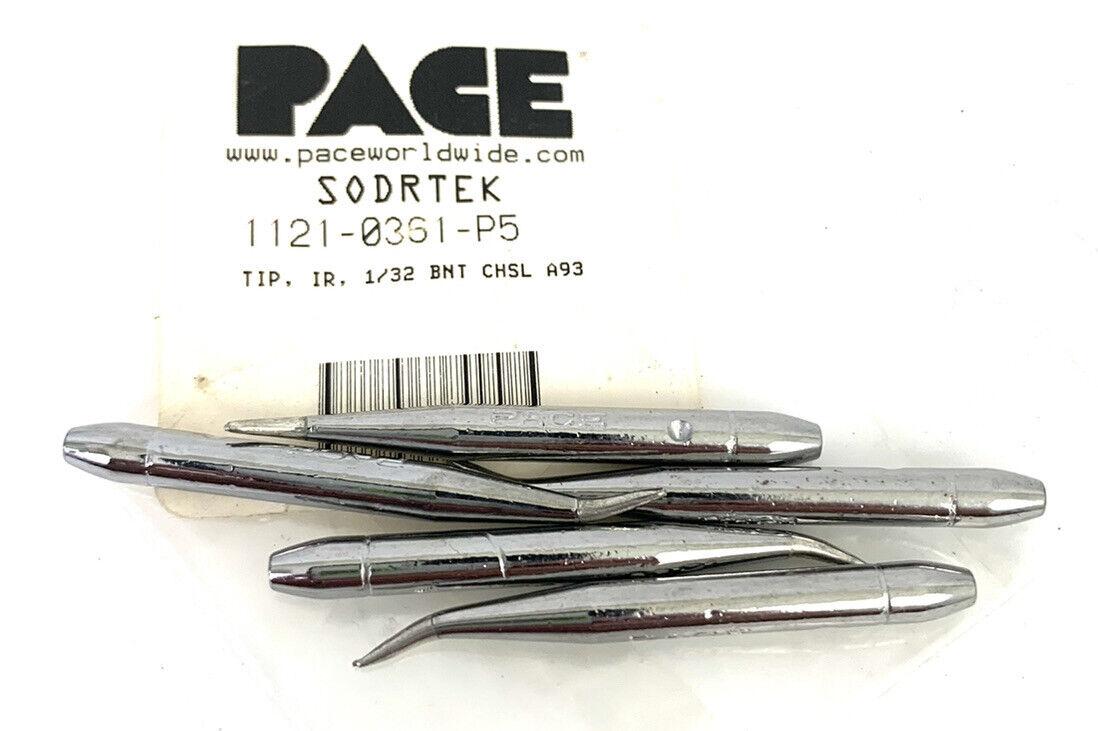 5 Pack - Pace 1121-0361-P5 1/32 in.Bent Chisel A93 - Sodrtek
