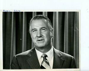 8-x-10-Press-Photo-Spiro-T-Agnew-39th-US-vice-president-Watergate-Scandal