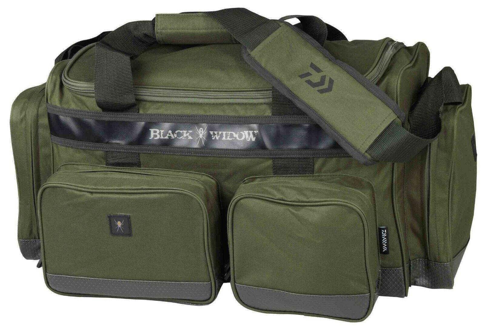 Daiwa schwarz Widow Carryall 60 x 32 x 40cm Carryall-Tasche 18705-070