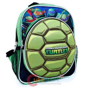 Image Is Loading Tmnt Ninja Turtles Toddler Hard S School Backpack