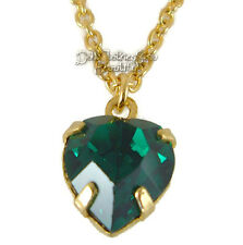 """CLEARANCE  May Birthstone Necklace Emerald Green fits18"""" American Girl Accessory"""