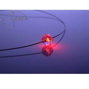 Collar-Led-Cristal-Bola-Rojo-Crystal-con-Elementos-Swarovski-Collar-de-Mujer
