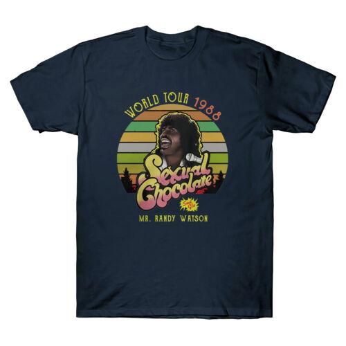 World Tour 1988 Sexual Chocolate Mr Randy Vintage Men T-Shirt XS-XXL