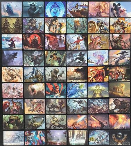 MTG Magic the Gathering Modern Horizons Art Series Cards Full Set 54//54