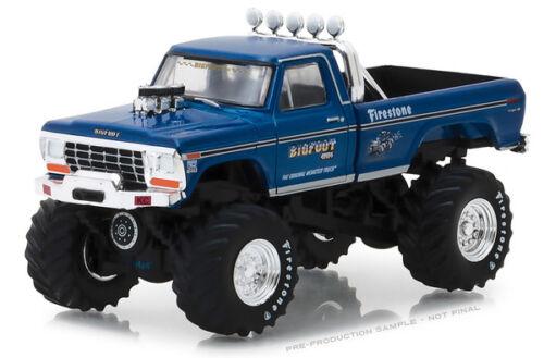 1/64 Greenlight Bigfoot #1 el Camión Monstruo Original - 1974 Ford F-250