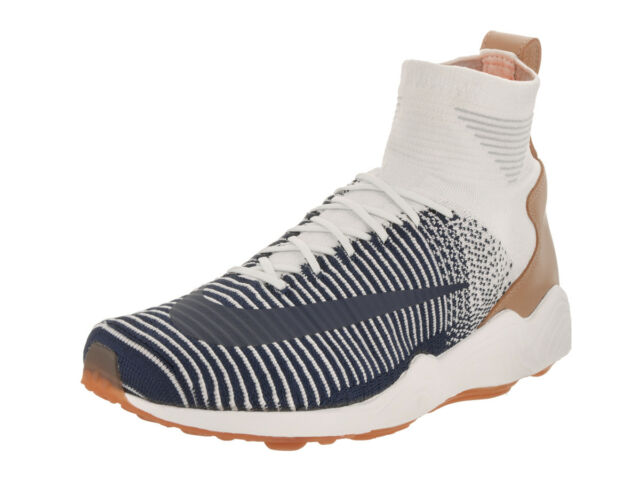 f648e4043 Mens Nike Zoom Mercurial XI Flyknit Sail College Navy Pale Grey ...