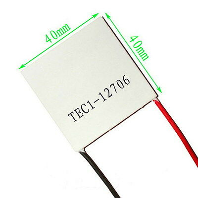 1PCS  Thermoelectric Cooler TEC1-12706 12V 60W 92Wmax Peltier BUY