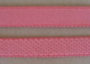 CRAFT-SEWING-ELASTIC-4mtrs-x-12mm-CoralPink-Plush-Elastic