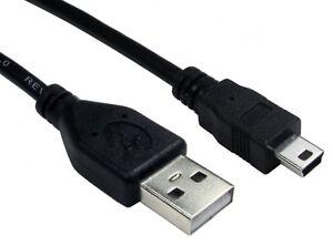 50cm-Cable-USB-2-0-corto-conducir-un-Macho-A-Macho-mini-B